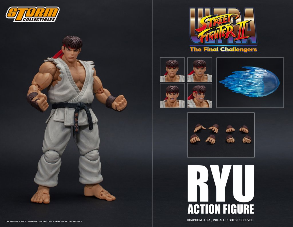 Storm Collectibles: Ultra Street Fighter II Ken and Ryu