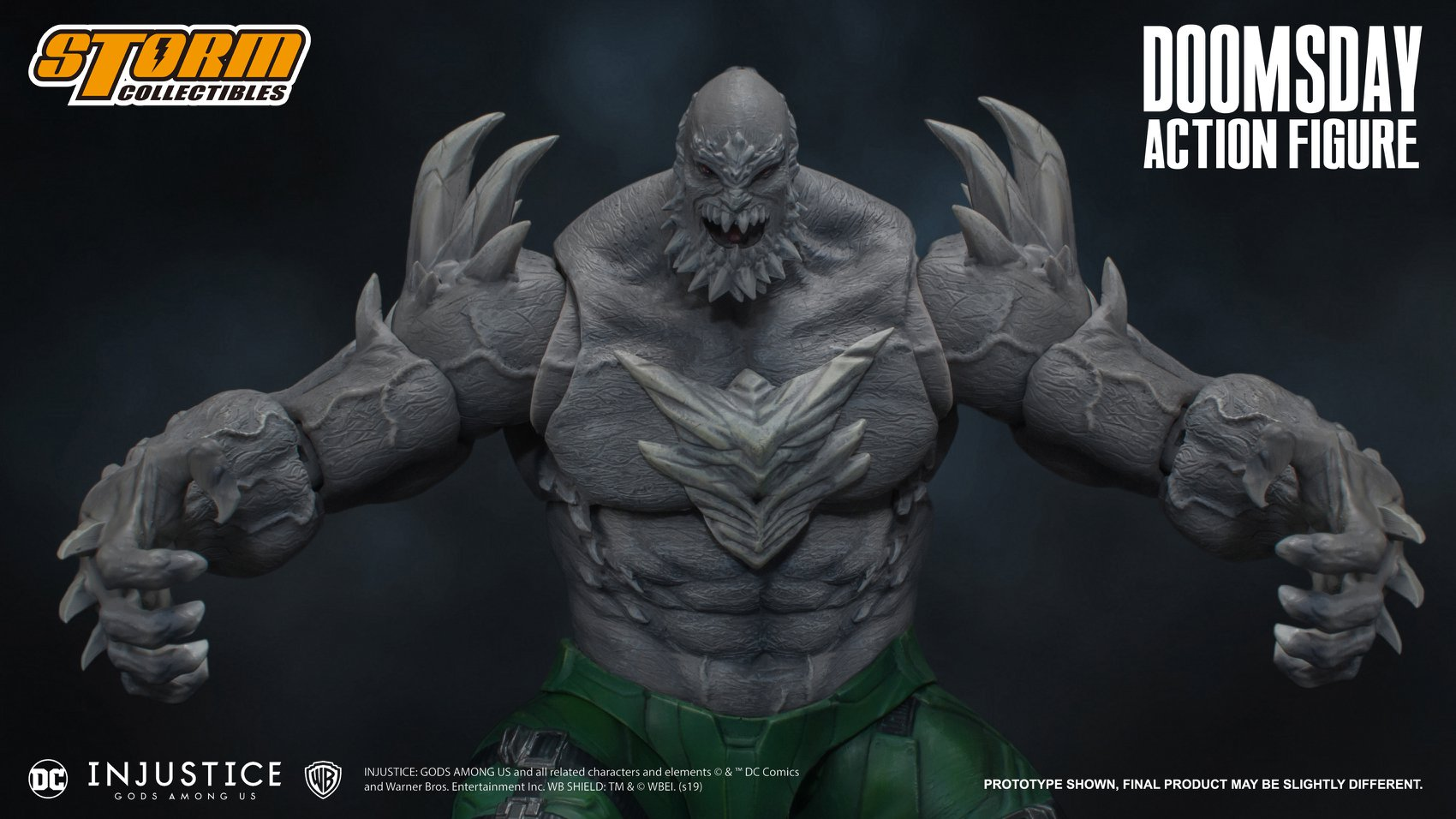 Storm Collectibles Dc Injustice Doomsday Promo Images And Info