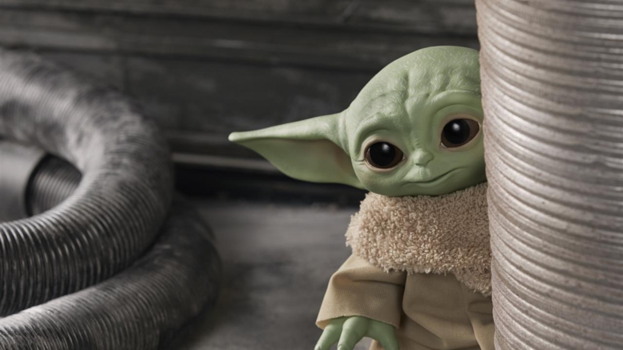 The Child Baby Yoda The Mandalorian Black Series Figura 3,04 cm