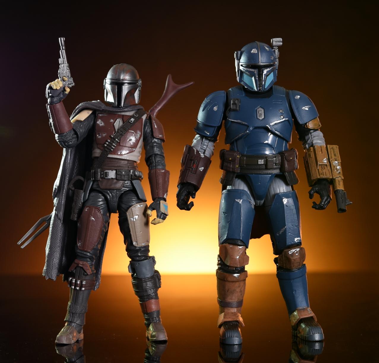 Black Series Hasbro Star Wars Deluxe Heavy Infantry Mandalorian
