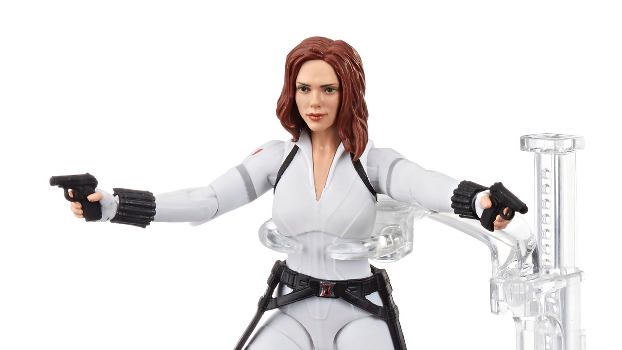 Hasbro Fan Channel Marvel Legends Black Widow Movie Deluxe White Outfit Promo Images And Pre Order Info Fwoosh