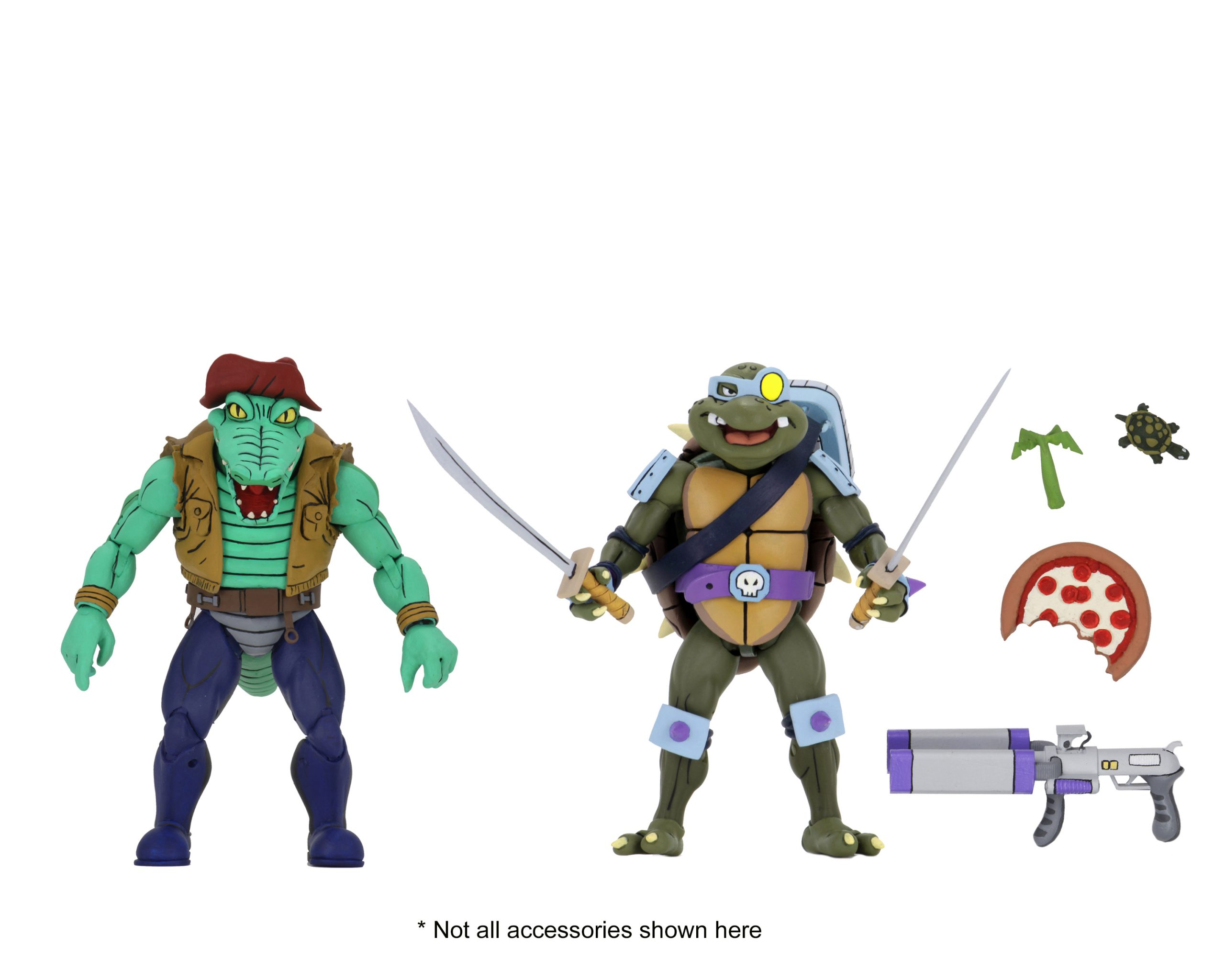 Neca Target Exclusive Tmnt Series 3 Cartoon 2 Packs Official Line