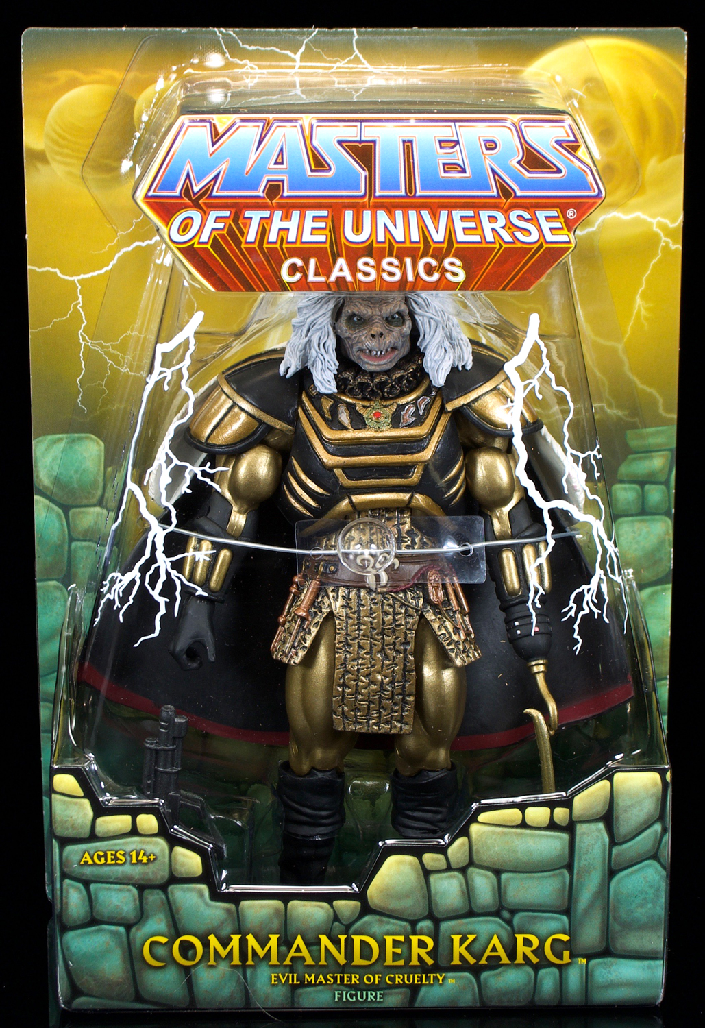 MOTU Classics William Stout Commander Karg Masters Of The Universe New