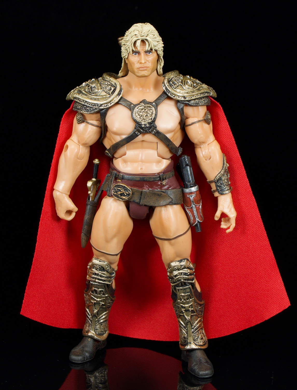 Image result for Master Of The Universe Classics Rebel Leader He-Man