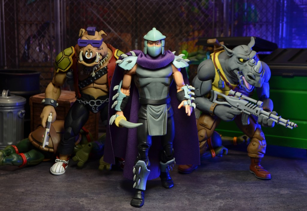 Neca Tmnt Shredder And Krang Pack Review