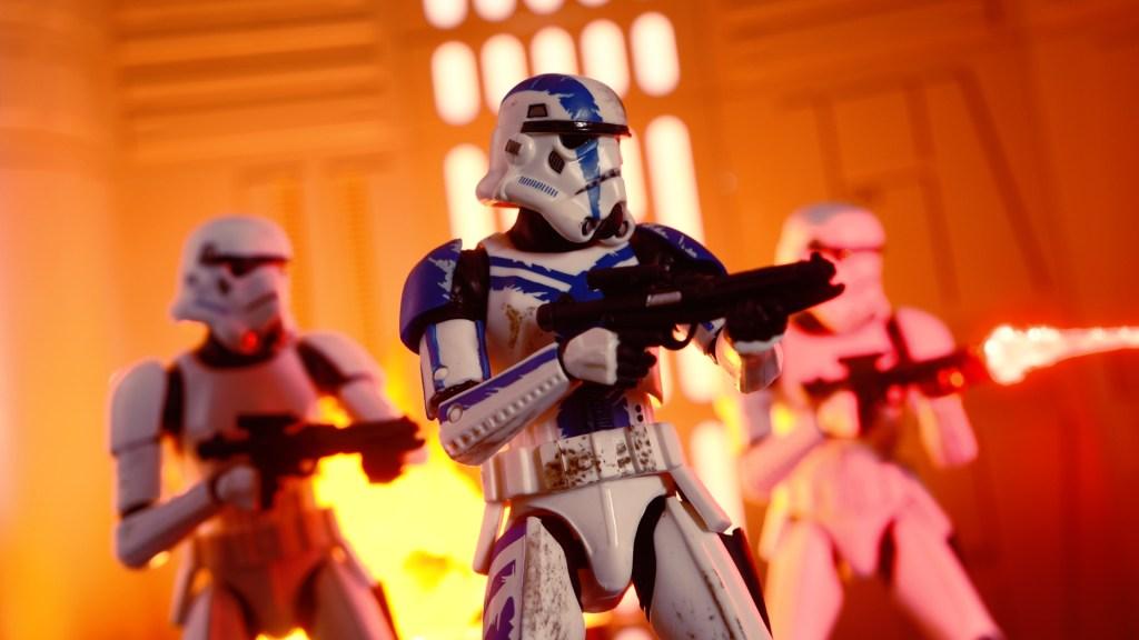 Star Wars Black Series Shadow Stomtrooper Gaming Greats 6 inch Figure