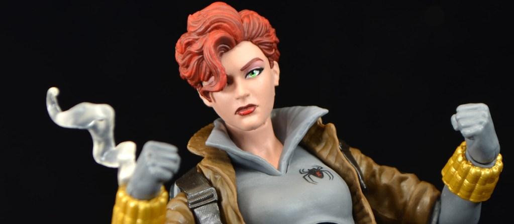 In Hand Marvel Legends Black Widow Gray Costume Hasbro Walmart Exclusive