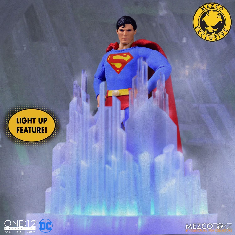 Mezco Exclusive One 12 Collective 1978 Superman Promo Pics And Info Fwoosh