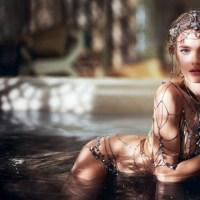 Fashion Feed : Natalia Vodianova for La Legende de Shalimar by Guerlain