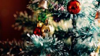Closeup on Christmas Tree