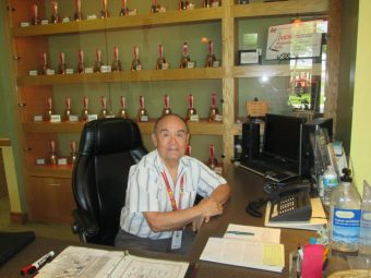 Tony Tonnochy works the front desk at the AIDS Service Association of Pinellas office in St. Petersburg every Tuesday. A volunteer at ASAP for eight years this month, Tony will be a Dining Out for Life volunteer ambassador at Backfin Blue Café in Gulfport on April 28.