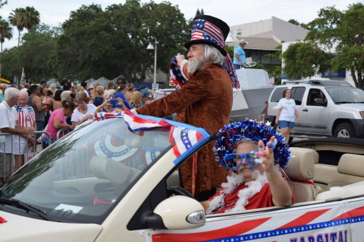 Gulfport's first poet laureate Peter Hargitai rode in the city's Fourth of July parade, one of many public appearances during his tenure. The hunt is not on for his successor.