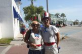 Juana and Larry Killian celebrate the Fourth in style.