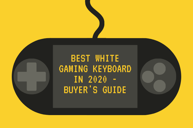 best white gaming keyboard