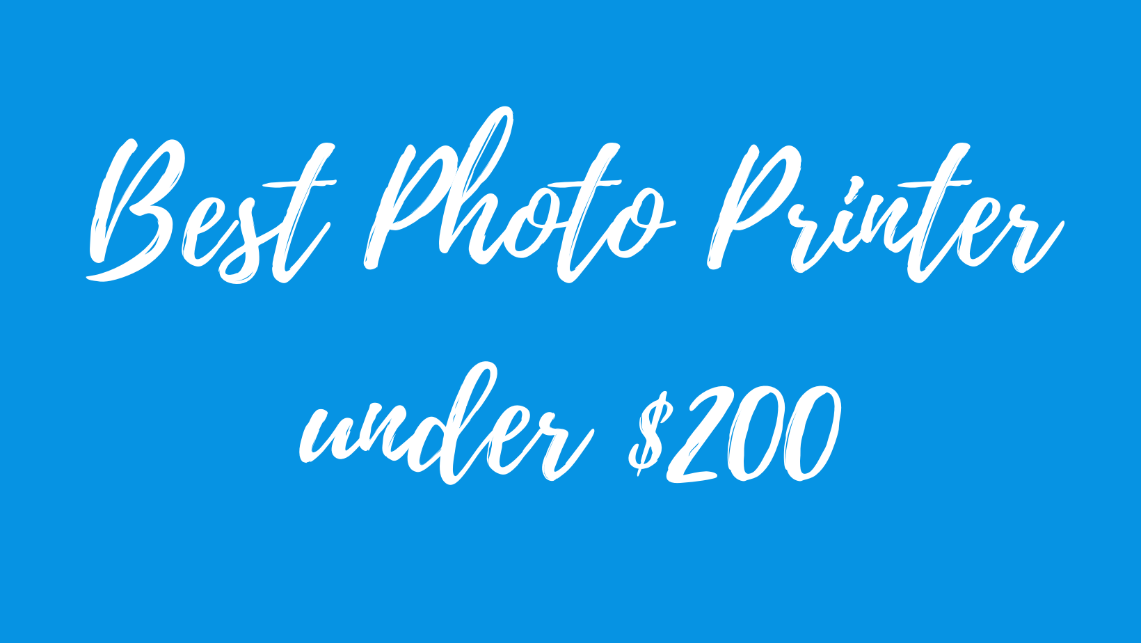 best photo printer under 200