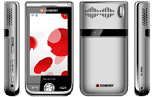 ST200 elevated thumb Projector Mobile Phones in India [Comparison]