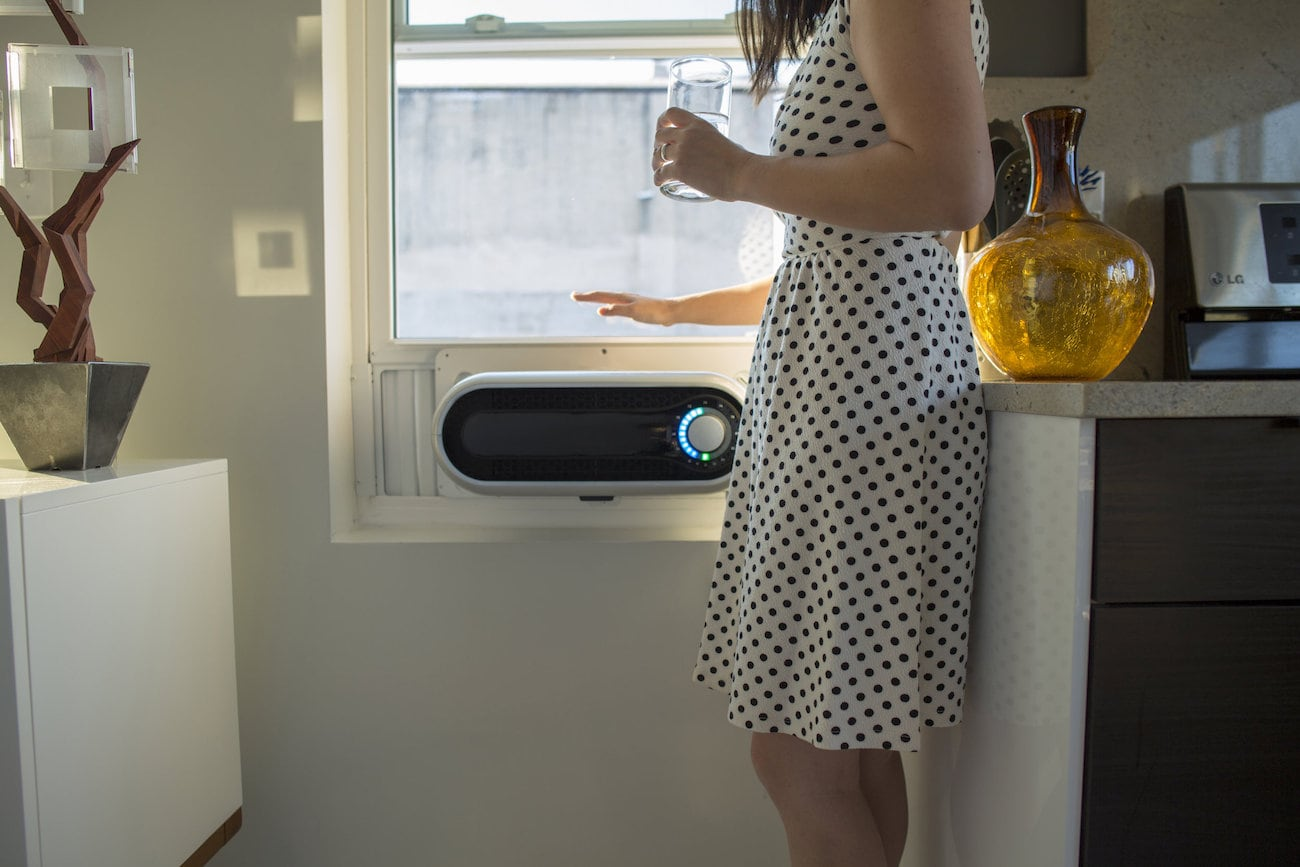 The Kapsul W5 Is A Smart Window Air Conditioner That Takes Little Space
