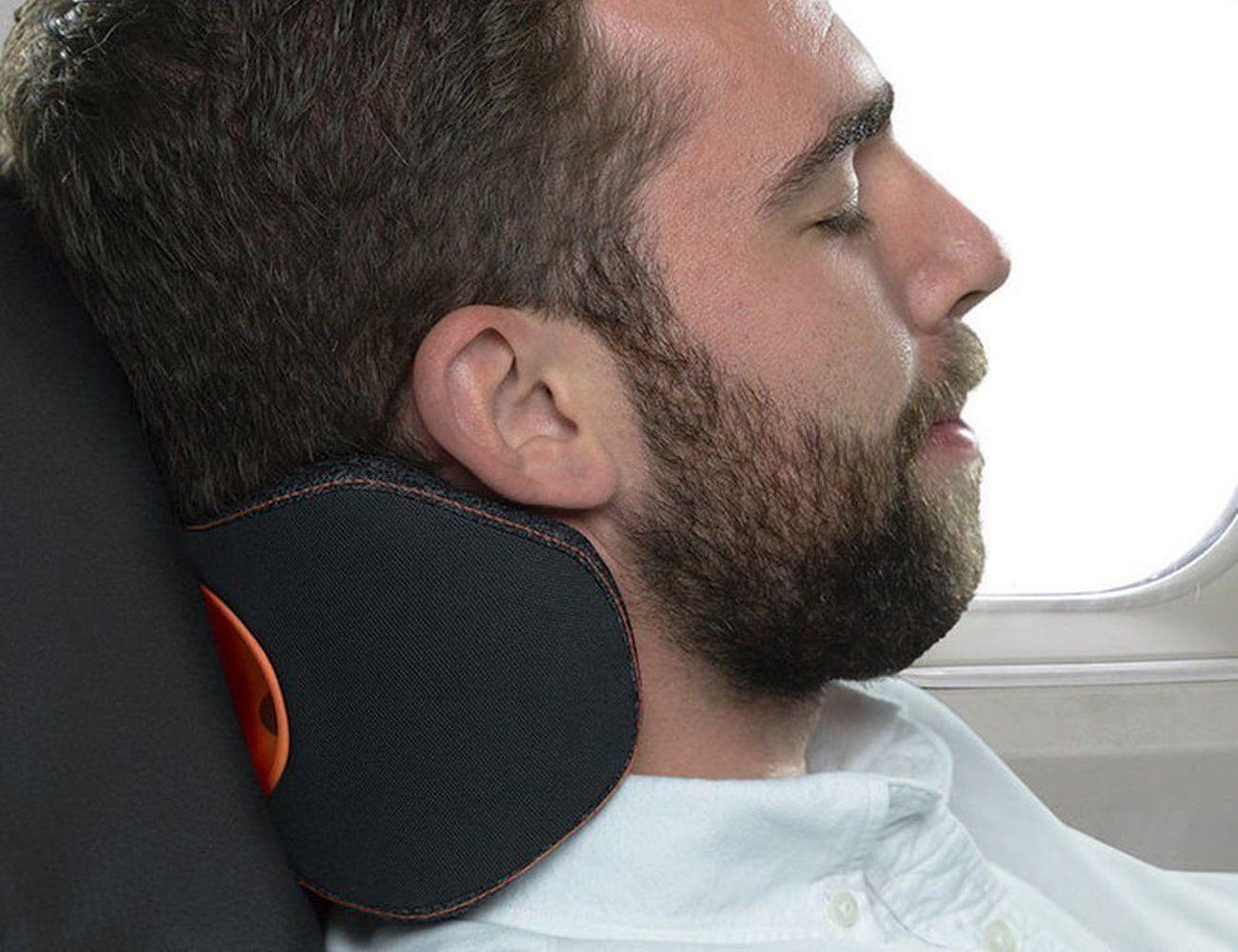 bullrest ergonomic travel pillow