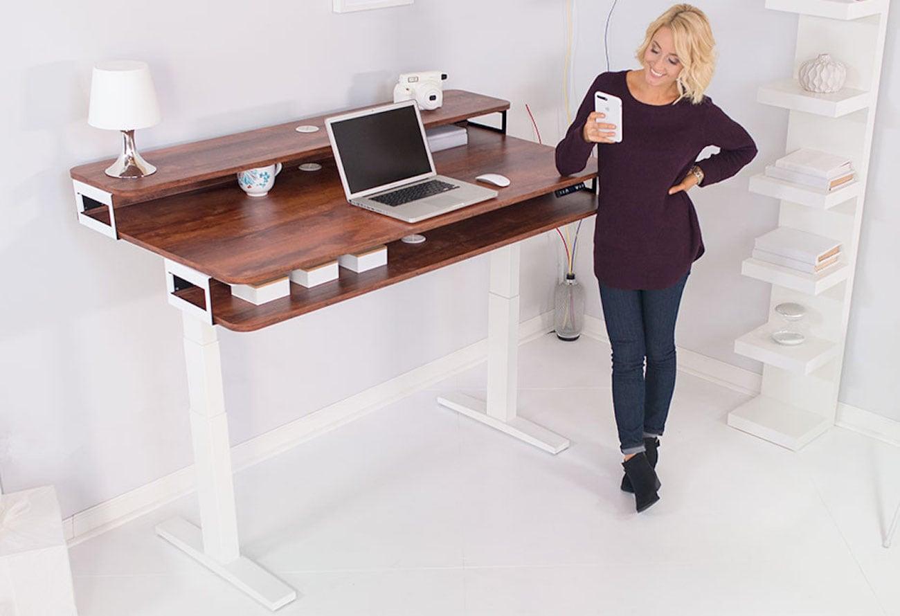 Nookdesk Adjustable Height Standing Desks Gadget Flow