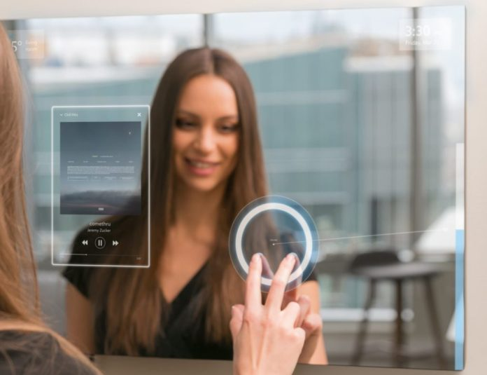 Ayi smart mirror uses AI to understand schedules