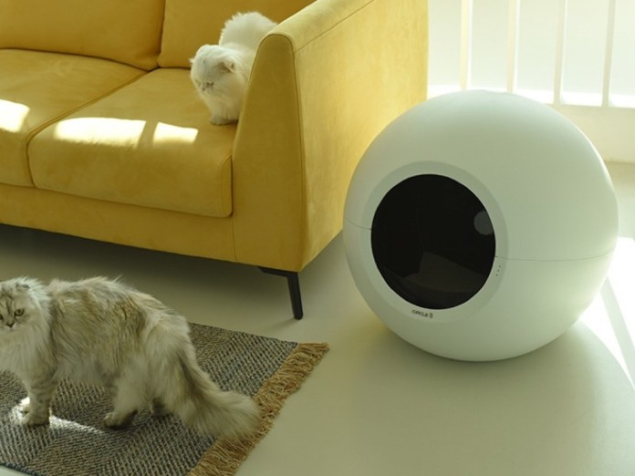 Pluto Circle Zero Good Litter Field takes care of your cat's enterprise