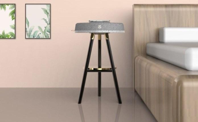 Table Objet Multipurpose Bedside Table