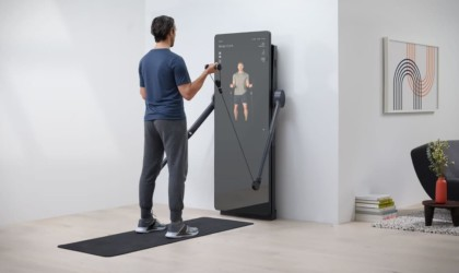Yves Béhar FORME Life Connected Fitness Mirror