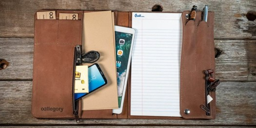 Allegory Padfolio Hardcover Writing Accessory