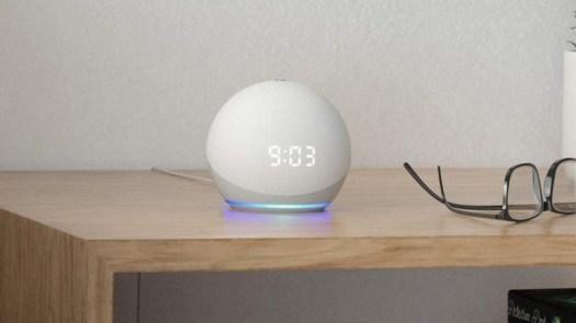 Amazon Echo Dot 4th-Gen smart speaker design