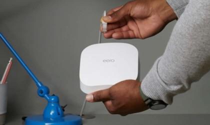 Amazon eero Pro 6 tri-band mesh Wi-Fi 6 router