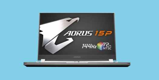 Gigabyte Aorus 15P portable laptop
