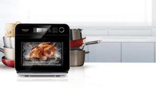 Panasonic Cubie Steam Convection Oven versatile microwave