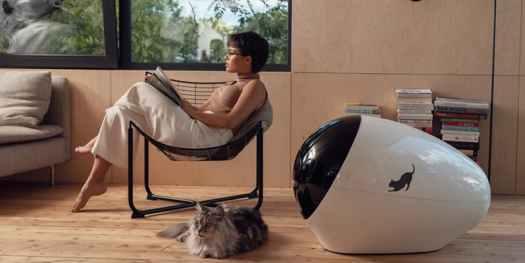 SPACE KOTTY Smart Cat Litter Box