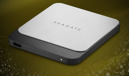 Seagate Fast SSD Compact Portable Hard Drive