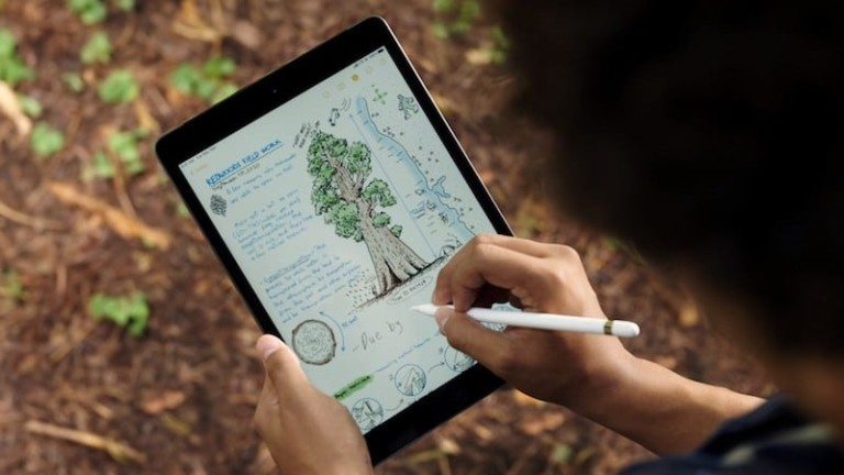 iPad 8th Generation with the Apple Pencil