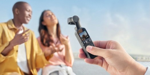 DJI Pocket 2 Tiny Stabilizing Camera