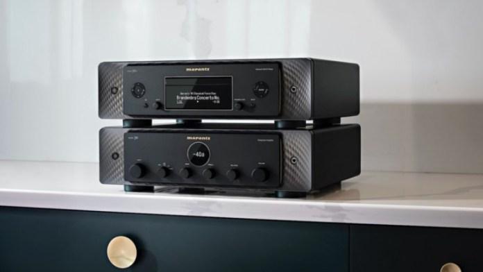Marantz MODEL 30 & SACD 30N amplifier audio streamer