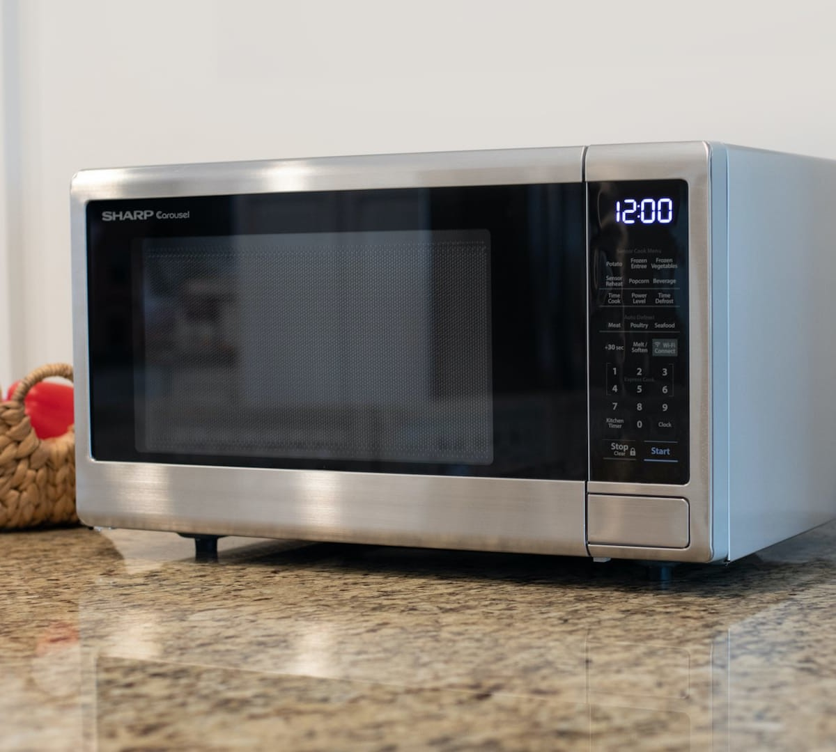 sharp smart countertop microwave ovens offer wi fi alexa connectivity