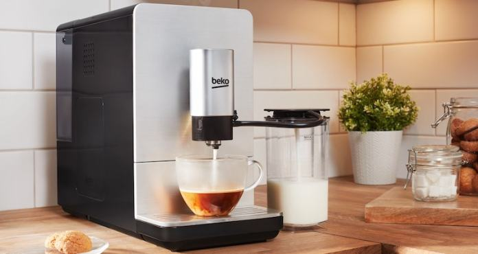 Beko Bean To Cup milk frothing coffee machine