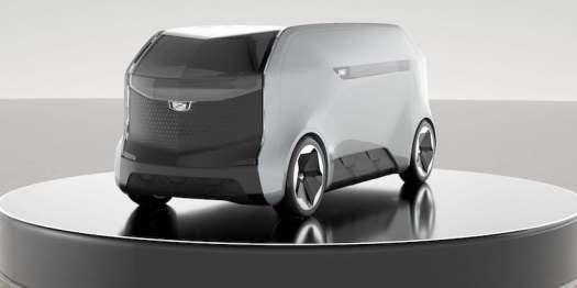 Cadillac Halo Self-Driving Concept Car