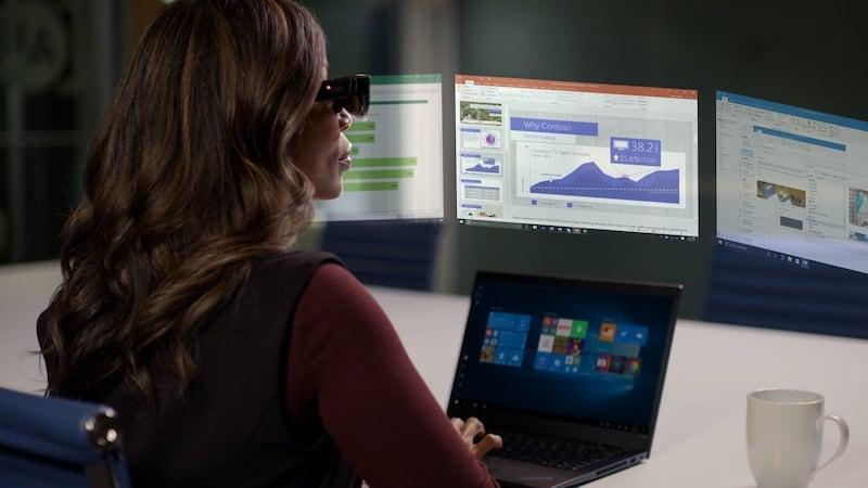 Lenovo ThinkReality A3 smart glasses