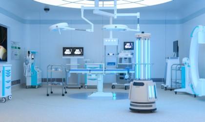 Ubtech Adibot UV-C Disinfecting Robot