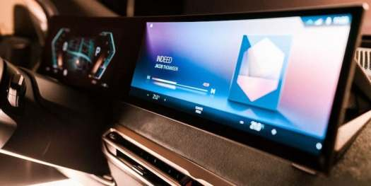 BMW iDrive infotainment system