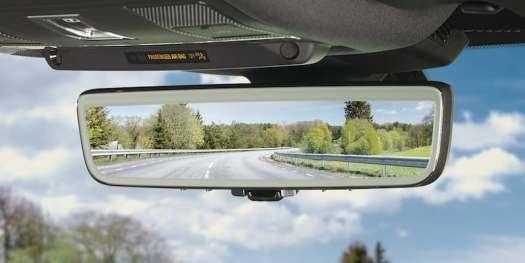 Gentex Full Display Rearview Smart Mirror