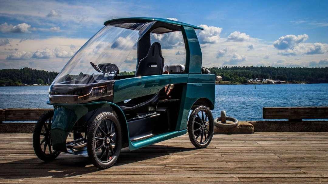 CityQ 4-wheeler eBike