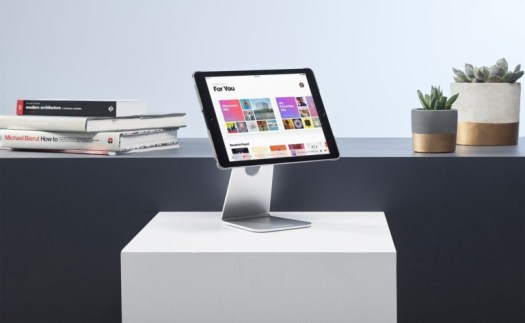 Proper iPad Pivot Stand Swiveling Tablet Holder