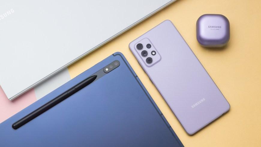 Samsung Galaxy A72 2021 smartphone boasts an Infinity-O FHD+ Super AMOLED  display » Gadget Flow