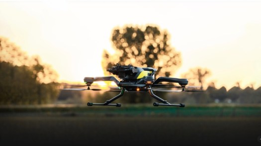 Acecore Tech's Zoe Zetona drone carries 3.5 lb payloads for 26 minutes and is weather-resistant