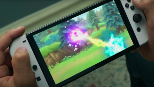 Nintendo Switch OLED has larger screen, increased storage, and LAN