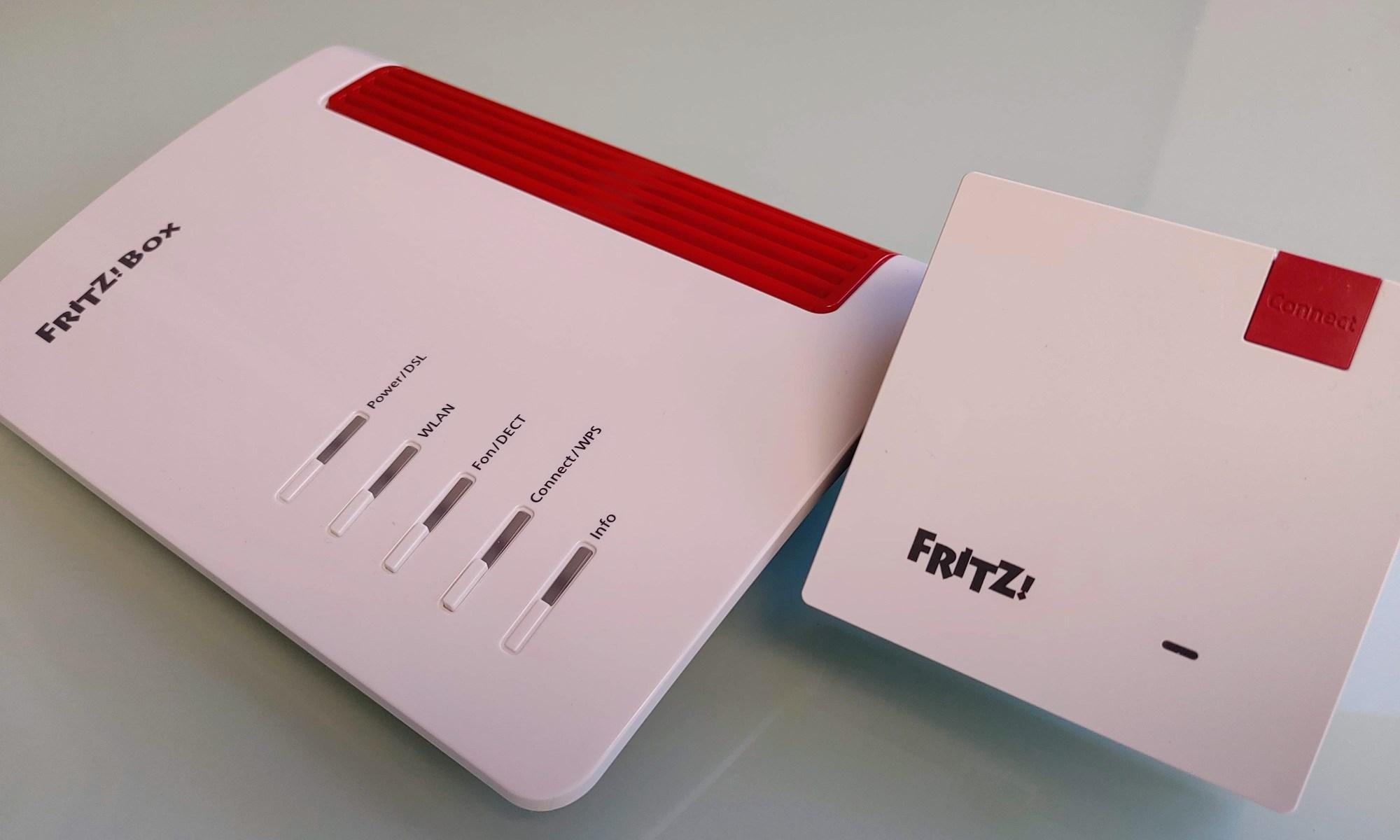 נתב Fritz Box 7530. צילום צחי הופמן